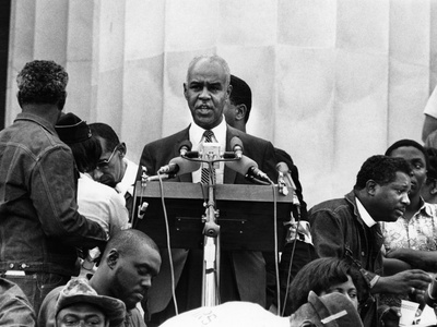 Roy Wilkins - 1968 Stretched Canvas Print