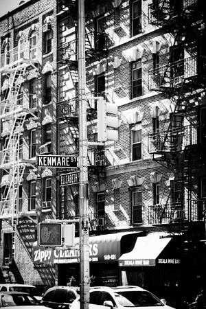 Landscape - Little Italy - Manhattan - New York City - United States Stretched Canvas Print