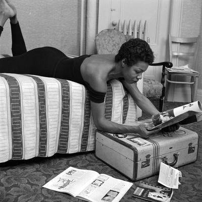 Maya Angelou Stretched Canvas Print