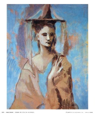 woman of majorca  1905 print
