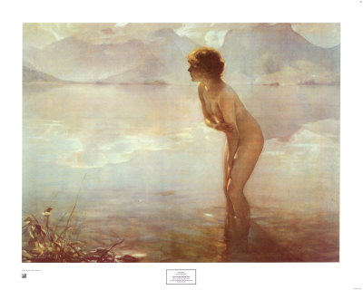 September Morn Print by Paul Chabas at Art.