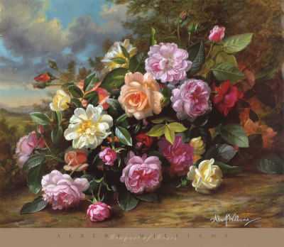 ������� ���� albert-williams-bouquet-of-roses.jpg