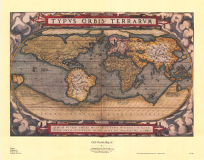 Cottage home furniture | old world maps & charts Spotlight on style vintage