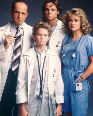 Doogie Howser, M.D. Stretched Canvas Print
