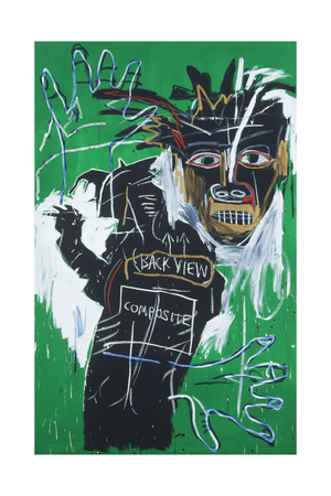 Self-portrait as a Heel Part Two artwork by Jean-Michel Basquiat