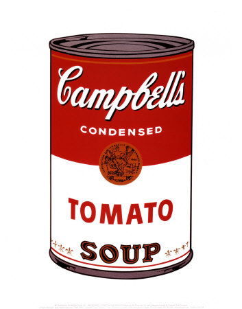 campbells soup i  1968 print