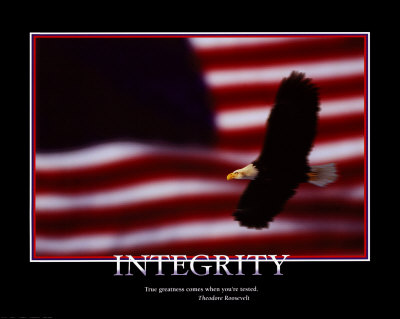 Patriotic Integrity Print at Art.