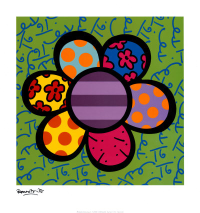 Romero Britto Art. Romero Britto at Art.com