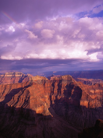 Grand Canyon Stretched Canvas Print