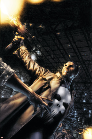 Marvels: Eye Of The Camera No.3 Cover: Punisher Stretched Canvas Print