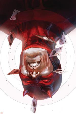 Daredevil No.115 Cover: Daredevil Stretched Canvas Print