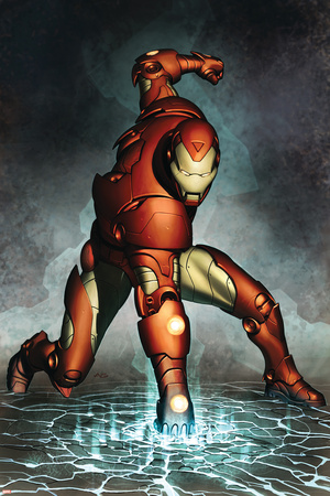 Iron Man No.76 Cover: Iron Man Stretched Canvas Print