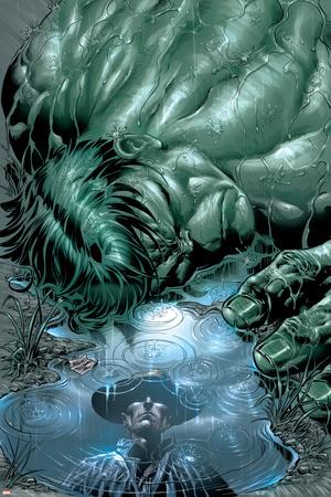 Incredible Hulk No.70 Cover: Hulk Stretched Canvas Print