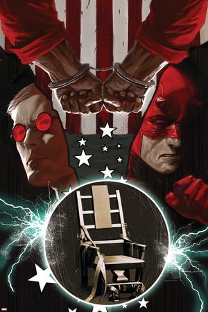 Daredevil No.107 Cover: Daredevil, Murdock and Matt Stretched Canvas Print