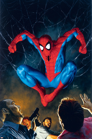 The Amazing Spider-Man No.518 Cover: Spider-Man Stretched Canvas Print