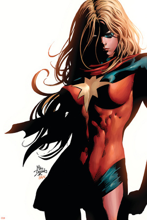 Ms. Marvel No.39 Cover: Ms. Marvel Stretched Canvas Print
