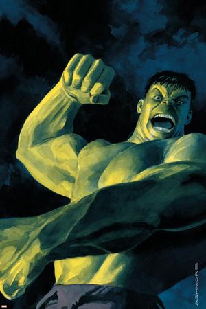 NightMerica No.5 Cover: Hulk Stretched Canvas Print
