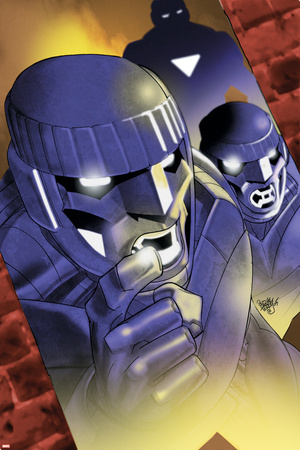 Sentinel Squad O*N*E No.2 Cover: Sentinel Stretched Canvas Print