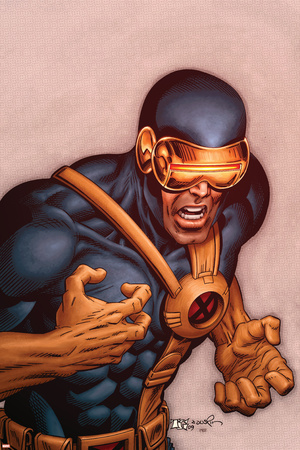 X-Men Forever No.18 Cover: Cyclops Stretched Canvas Print