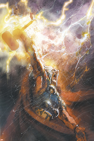 Thor No.75 Cover: Thor Stretched Canvas Print