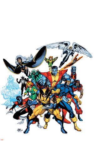 Marvel Legends: Arthur Adams TPB Cover: Wolverine Stretched Canvas Print