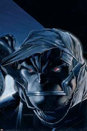 X-Men No.182 Cover: Apocalypse Stretched Canvas Print