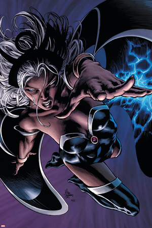 X-Men: Worlds Apart No.3 Cover: Storm Stretched Canvas Print