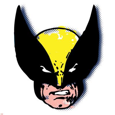 Marvel Comics Retro: Wolverine Stretched Canvas Print