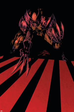 Wolverine Annual No.2 Cover: Wolverine Stretched Canvas Print