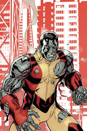 Uncanny X-Men No.507 Cover: Colossus Stretched Canvas Print
