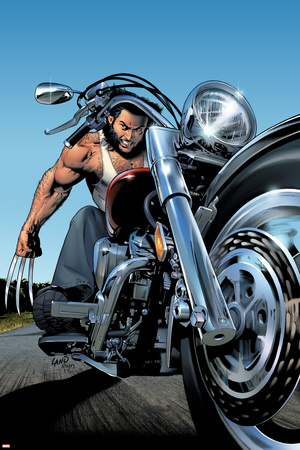 Uncanny X-Men No.453 Cover: Wolverine Stretched Canvas Print