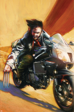 Wolverine No.74 Cover: Wolverine Stretched Canvas Print