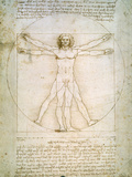 Vitruvian Man by da Vinci