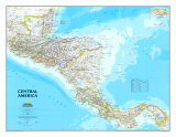 Maps of Central America (Natl. Geo.)