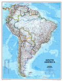 Maps of South America (Natl. Geo.)