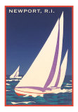 Rhode Island Travel Ads (Vintage Art)