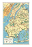 Maps of Brooklyn