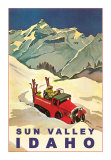 Idaho Travel Ads (Vintage Art)