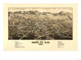 Maps of Santa Fe, NM
