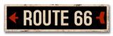 Vintage Wood Street Signs
