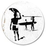 Vintage Surfing (Wood Signs)