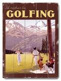 Vintage Golf (Wood Signs)