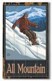 Vintage Skiing (Wood Signs)