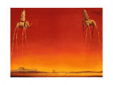 The Elephants by Dali