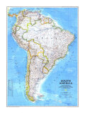 Maps of South America (Natl. Geo.)