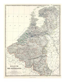 Maps of Belgium