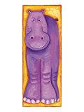Purple Kids Art