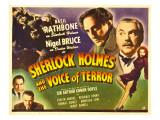 Sherlock Homes & the Voice of Terror