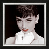 Audrey Hepburn (Spot Color Photography)