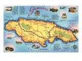 Maps of Jamaica